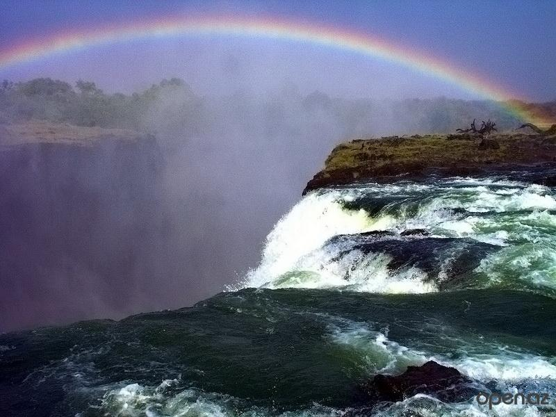 Где находится водопад Виктория