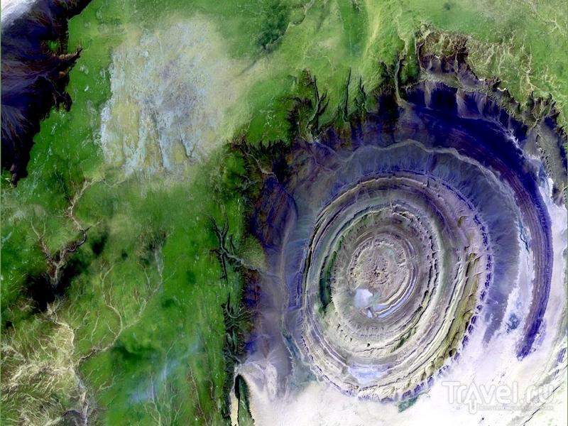 Глаз пустыни Cахара