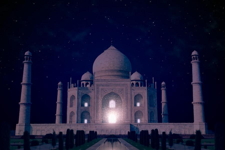 Тадж-Махал (Индия).