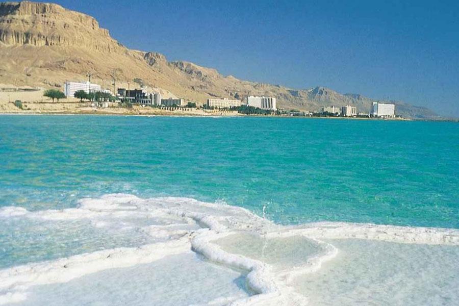 Концентрация соли в мертвом море