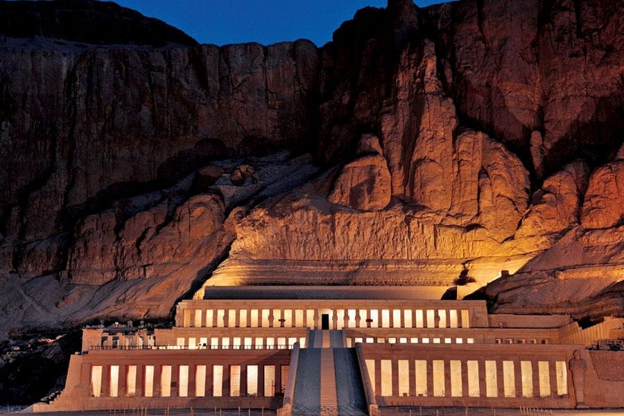 Храм Хатшепсут в Луксоре