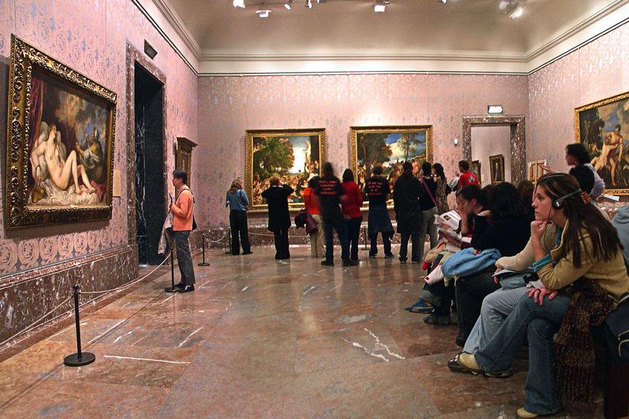 Музей Прадо в Мадриде картины