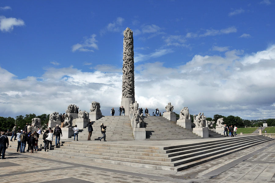 Парк скульптур Густава Вигеланда