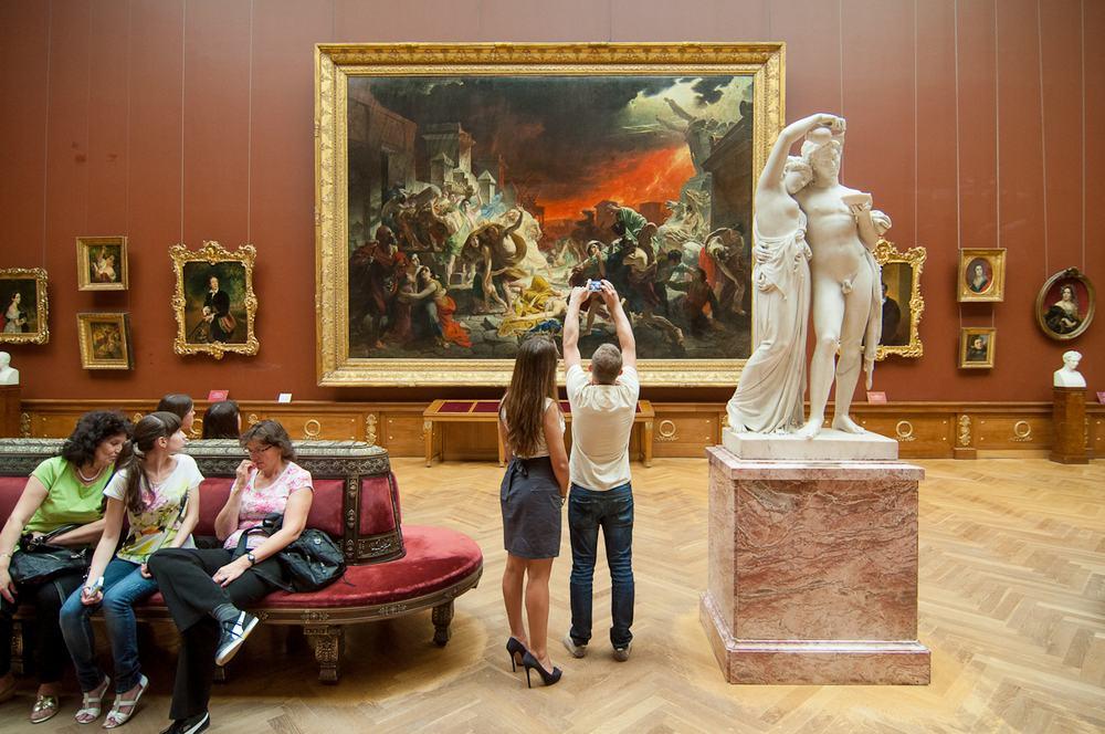 Русский музей в Санкт-Петербурге - картины